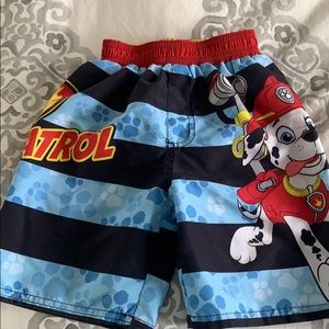 Boys 4T Paw Patrol Swimming Trunks